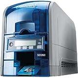 DataCard SD260 Couleur Bleu, Gris imprimante de cartes en plastique - imprimantes de cartes en plastique (85,6 x 53,98 mm, Bleu, Gris, cULus, FCC, I.C., CE, Ctick, VCCI, RoHS, WEEE, CCC, KCC, USB, 50/60 Hz, 100 - 240 V)