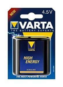 Varta Flachbatterie (High-Energy, 4,5 V): Amazon.de