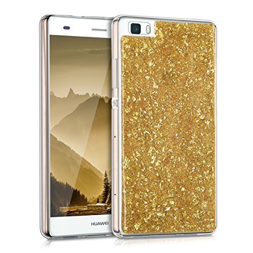kwmobile-crystal-tpu-silicone-case-for-huawei-p8-lite-in-gold-transparent-design-flakes-glitters
