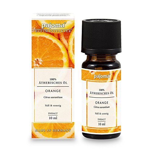 Orange Aromatherapie (Ätherisches Duftöl ''Orange'' , 10 ml, 100% naturrein von pajoma)