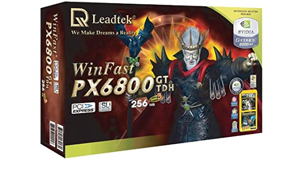 Leadtek WinFast NVIDIA GeForce PX 6800 GT Graphics Card 256MB DDR3 PCI Express 16x Dvi TV Out Retail Amazoncouk Computers Accessories
