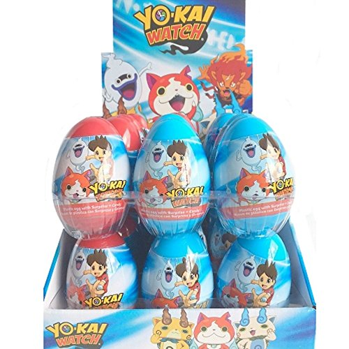 LOT 10 OEUF SURPRISE YO KAI WATCH BONBONS SURPRISES