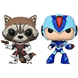 Funko Pack: Pop! Marvel Vs. Capcom Infinite 2 - Rocket Vs. Mega Man X