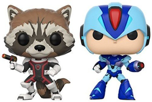 Funko 22773 Capcom Marvel Rocket vs Megaman X Pop Vinyl Figur