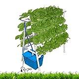 ZDYLM-Y Kit di Coltivazione idroponica, 8 Tubi Hydroponics Sistema di Allevamento, PVC Verticale idroponica Tubo Grow Verdura Fresca