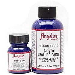 Angelus Acryl Lederfarbe Dunkelblau 118ml