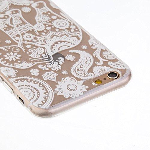 iphone 5s Hülle, iphone 5s Hülle, iPhone 5 Hülle, SainCat Silikon Hülle Tasche Handyhülle [Kratzfeste, Scratch-Resistant] TPU Bumper Case Weiches Gel Cover Schutzhülle Crystal Kirstall Clear Case Durc Schnee