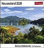 Neuseeland Kalender 2020: Sehnsuchtskalender, 53 Postkarten