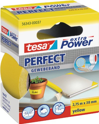 extra Power Perfect Gewebeband gelb