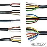 AUPROTEC Kfz Leitung 2-13 polig Anhängerleitung PKW LKW Meterware Auswahl: (7 adrig 7 x 1.0 mm² Rundleitung)