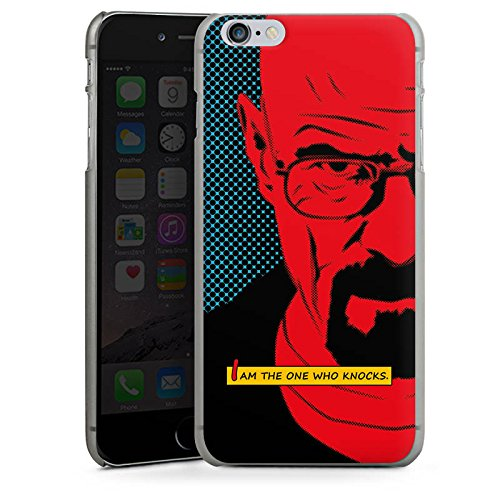 Apple iPhone 6s Hülle Case Handyhülle Walter White Breaking Bad Heisenberg Hard Case anthrazit-klar