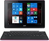 Acer Aspire Switch 10 E Pro7 2in1 Entertainment Edition (SW3-013) 25,6 cm (10,1 Zoll HD IPS) Convertible Notebook (Intel Atom Z3735F, 2GB RAM, 32GB eMMC, Intel HD Graphics, Win 10 Home) pink