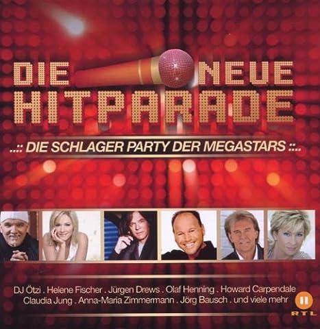 Die Neue Hitparade - Die Schlager Party der Megastars (Neueste Cd)