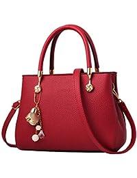 6e670e616fe71 Frauen Handtasche Freizeit Mode Klassischen PU Umhängetasche Tote Handtasche  Damen Mutter…