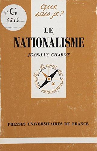 Le Nationalisme