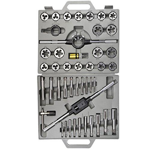 10-Piece Silverline MS53 Tap and Die Set Metric