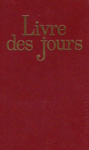 Le livre des jours