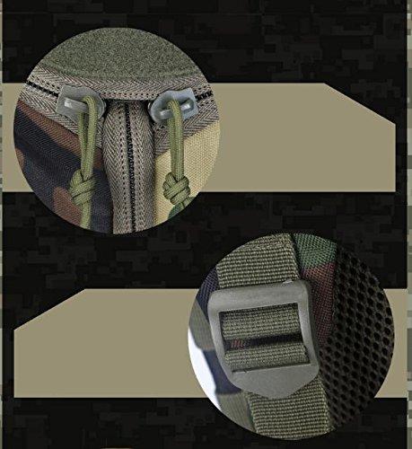 HCLHWYDHCLHWYD-Außensportplatz Reiten Rucksack Tasche Rucksack Multifunktions-taktischer Angriffs-Rucksack mit großer Kapazität 11