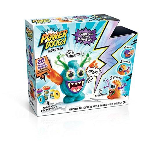 Canal Toys–ct57901–Pate a Modeler–Power Dough–Crazy Monster