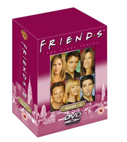 Click for larger image of Friends - Complete Series 10 (5-DVD Skyline Edition) Box Set [1995]