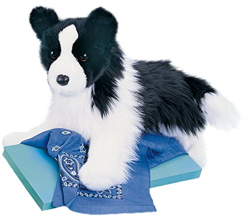 Cuddle Toys 2001 41 cm Long Chase Border Collie Plush Toy