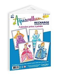Sentosphère 665E Aquarellum Junior - Recarga de Acuarelas Princesas