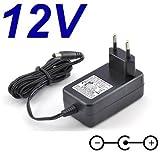 Cargador Corriente 12V Reemplazo Televisor TV LCD NEVIR NVR-7029 TT-19 Recambio Replacement