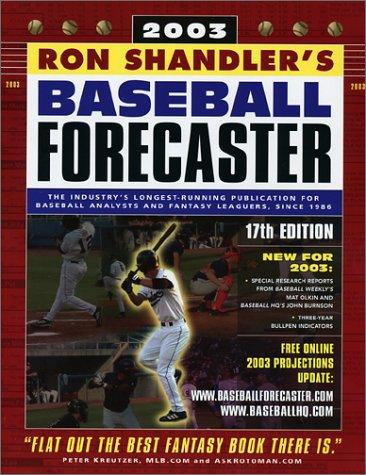 Baseball Forecaster 2003 por Ron Shandler