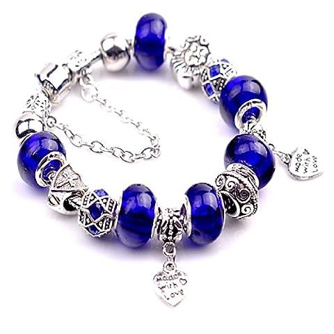 Bracelet femme, Bracelet Fantaisie, Bracelet Charms. Collection avec motifs interchangeables