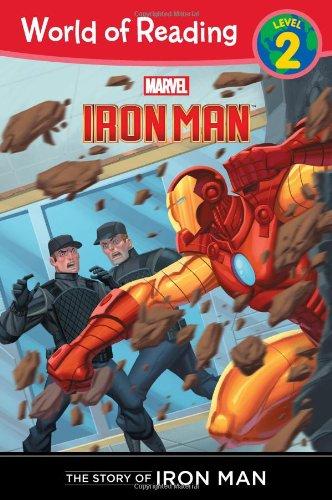 The Story of Iron Man (Level 2) (World of Reading, Level 2: Iron Man) por Dbg