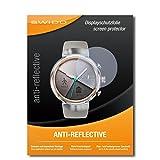 2 x SWIDO protecteur d'écran Asus Zenwatch 3 WI503Q protection d'écran feuille 'AntiReflex' antireflets
