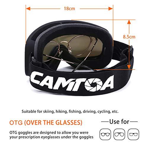 Zoom IMG-2 camtoa occhiali da sci snowboard