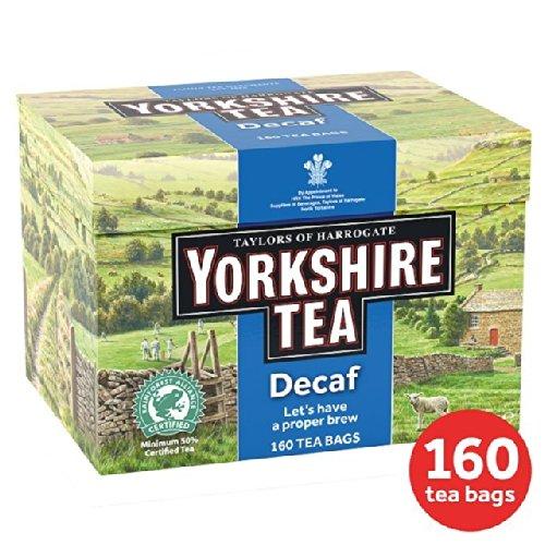 Taylors of Harrogate Yorkshire entkoffeiniert 160 Teebeutel pro Packung