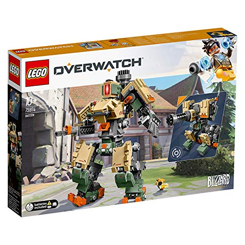LEGO 75974 Overwatch Bastion Building Kit, Multicolour Best Price and Cheapest