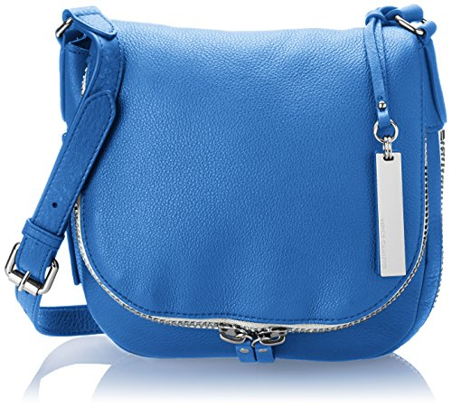 Vince Camuto, Borsa a tracolla donna marrone Brown Intense Blue/Blue