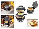 Petit Déjeuner Sandwich Bagel Muffin Burger BAP Presse Maker électrique 600W rapide facile