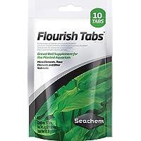 Seachem Flourish grava cama tabletas, 10-Count