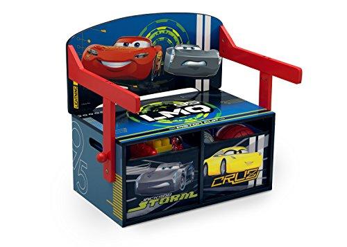 Disney Cars Sitzbank & Schreibtisch aus Holz