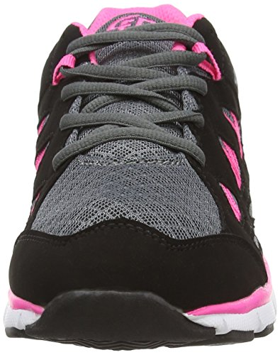Brütting Spiridon Fit, Chaussures de Running Entrainement Femme Gris (grau/schwarz/pink)