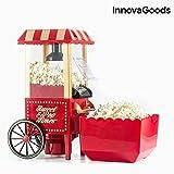 Aicook Macchina per Popcorn, 1200W Retro Macchina Pop Corn Compatta ad aria calda senza grassi, Operazione con Un Pulsante, Rosso