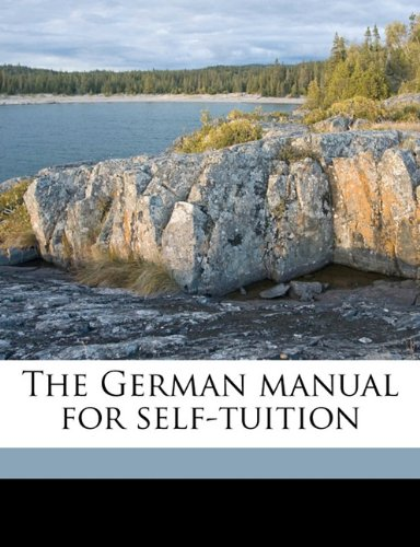 The German manual for self-tuition