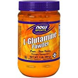 L-glutamine powder - 450 g - Now foods