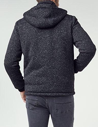 Pioneer Herren Sweatshirt Sweatjacke Schwarz (Black 11)