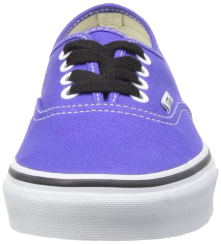 Vans U Authentic Slim, Baskets mode mixte adulte Bleu - Spectrum Purple/True White