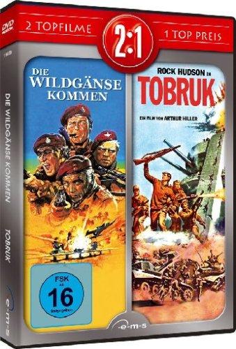 Die Wildgänse kommen / Tobruk [2 DVDs]