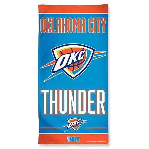 NBA Oklahoma City Thunder Beach Handtuch, Team Farbe, eine Größe