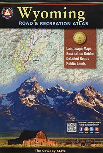 Wyoming Road & Recreation Atlas: 3rd Edition -