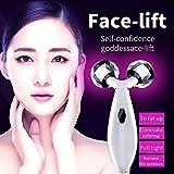 3D Gesicht Massage Roller, Massagegerät gegen Dehnungsstreifen, Schwangerschaft, kühlend und erfrischender Massageroller für Gesicht, Nacken, Körper, Doppelkinn, Anti-Aging, Anti-Cellulite, Hautstraffung