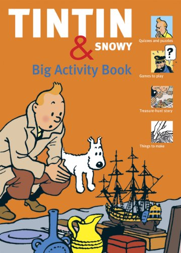 Tintin and Snowy : big activity book