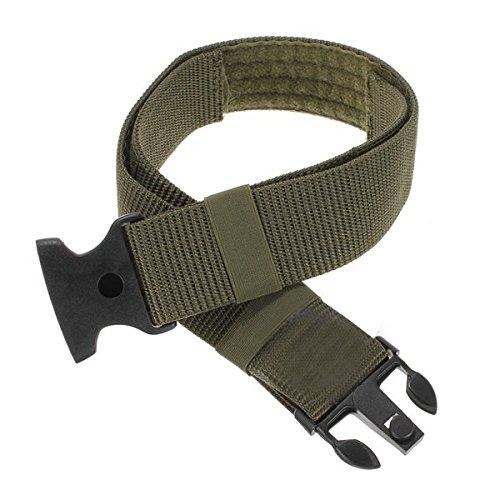 mamaison007-attache-reglable-double-securite-en-nylon-de-la-police-de-ceinture-vert